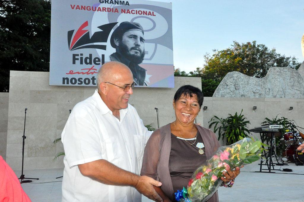 56 Aniversario de los CDR, Plaza de la Patria, Bayamo 1