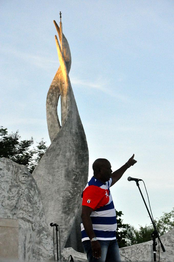 56 Aniversario de los CDR, Plaza de la Patria, Bayamo 11