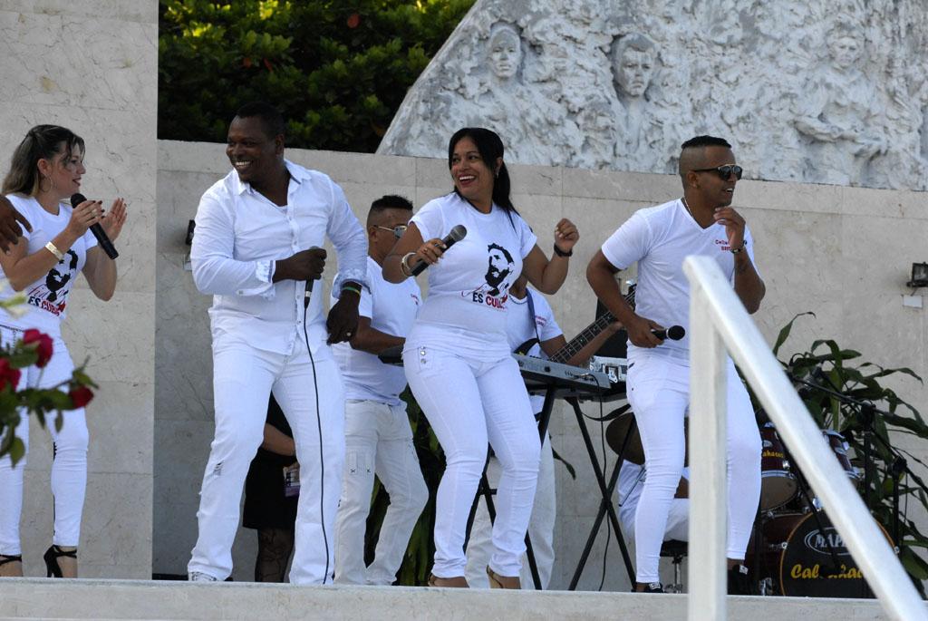 56 Aniversario de los CDR, Plaza de la Patria, Bayamo 12