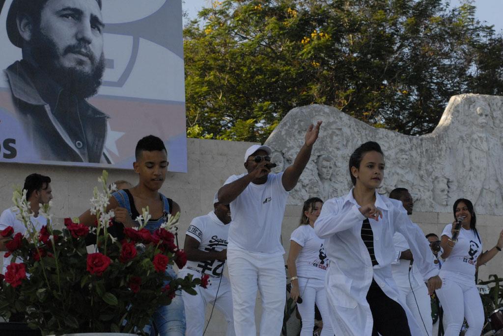 Unos 80 mil granmenses acudieron a la Plaza de la Patria para celebrar aniversario de los CDR (+ fotos, audio y video)