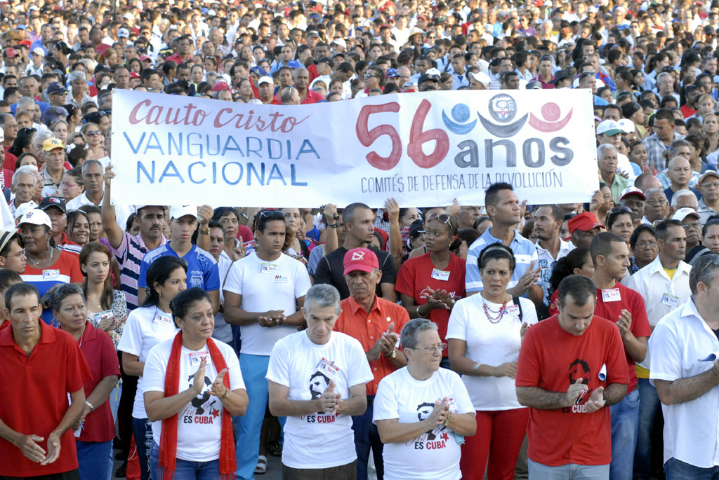 56 Aniversario de los CDR, Plaza de la Patria, Bayamo 14