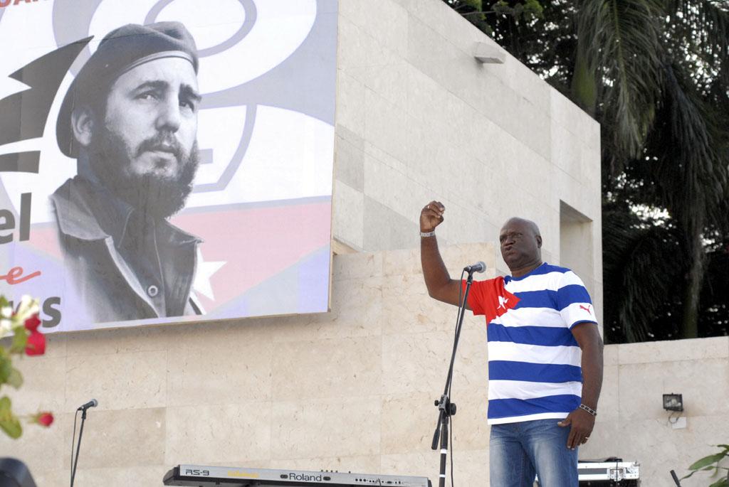 56 Aniversario de los CDR, Plaza de la Patria, Bayamo 15