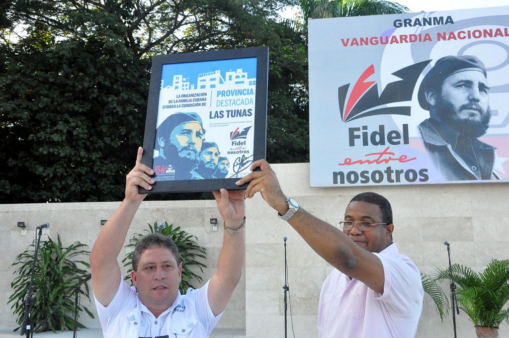 56 Aniversario de los CDR, Plaza de la Patria, Bayamo 2
