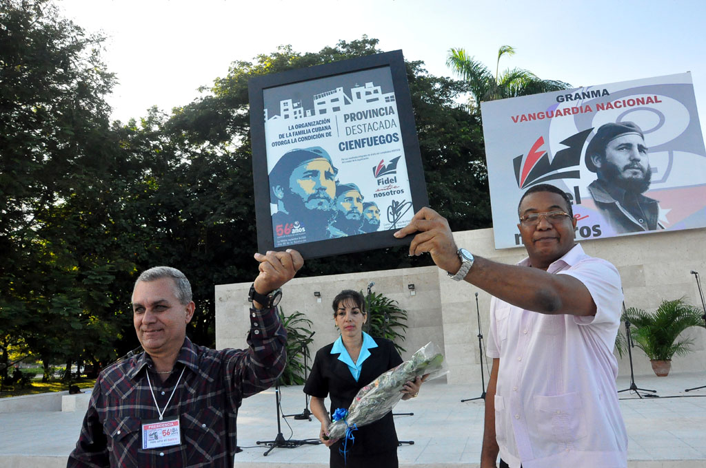 56 Aniversario de los CDR, Plaza de la Patria, Bayamo 4