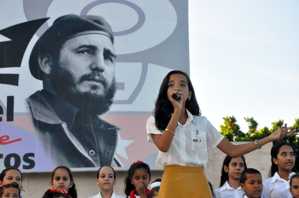56 Aniversario de los CDR, Plaza de la Patria, Bayamo 6