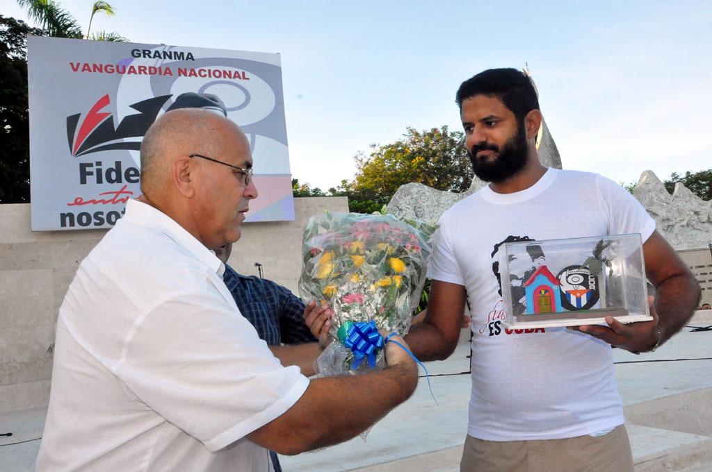 56 Aniversario de los CDR, Plaza de la Patria, Bayamo 8