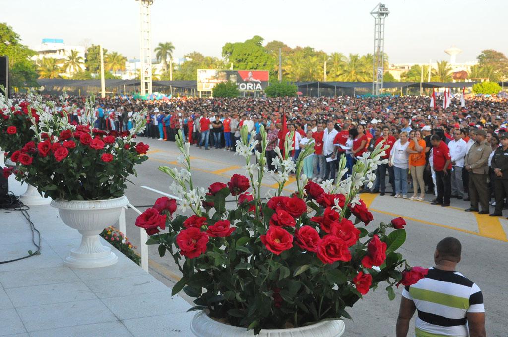 56 Aniversario de los CDR, Plaza de la Patria, Bayamo 9