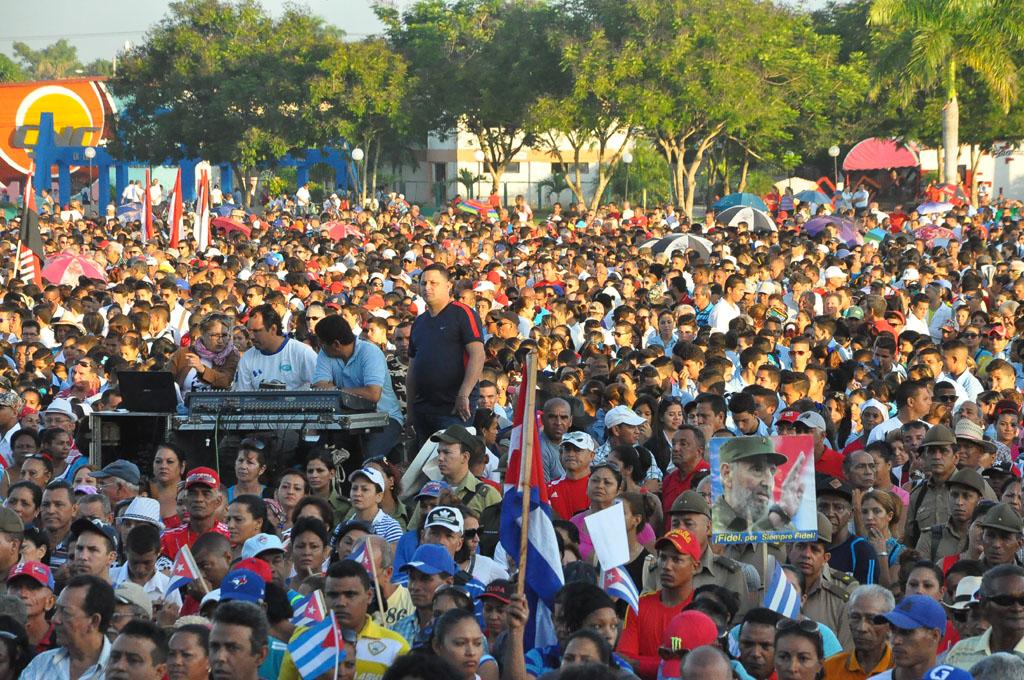56 Aniversario de los CDR, Plaza de la Patria, Bayamo