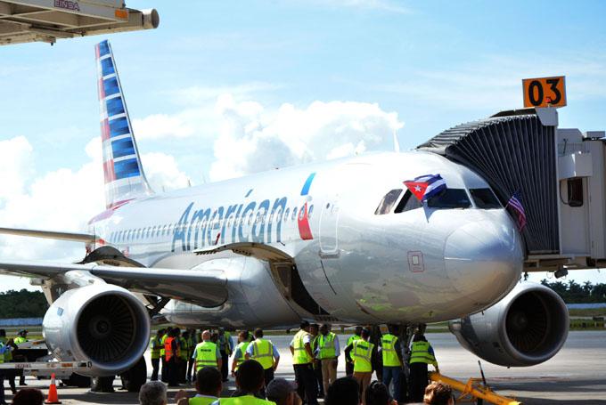 American Air Lines primera del mundo con más viajes a Cuba