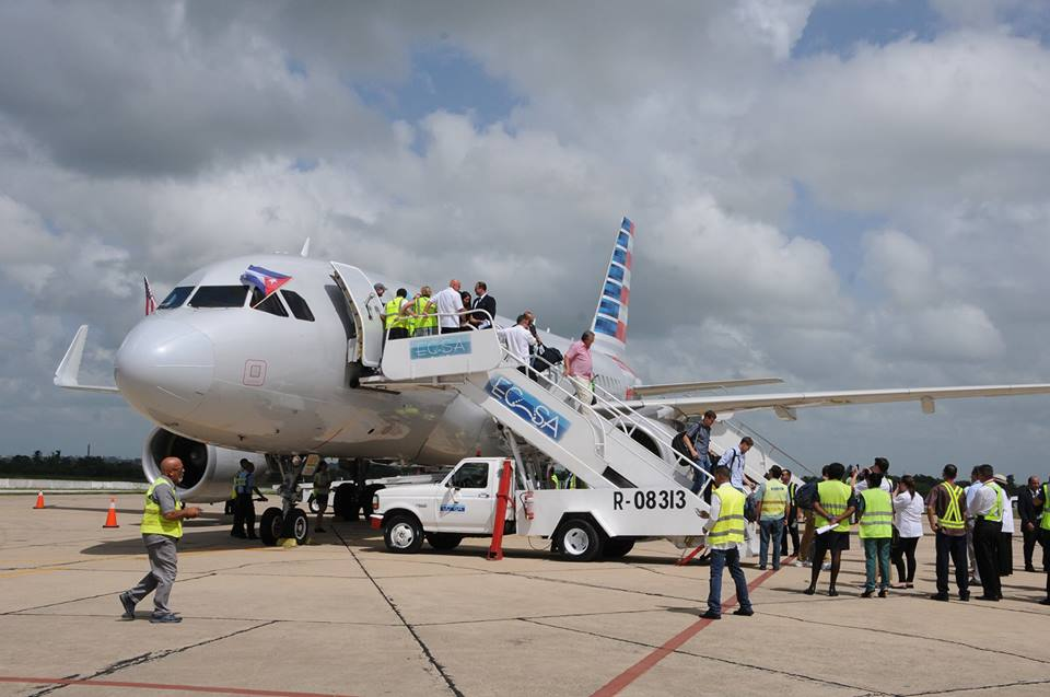 American Airlines, Cienfuegos, Cuba