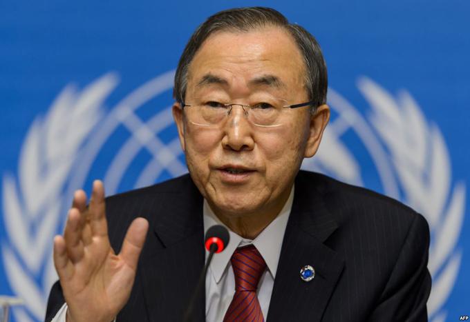 Ban Ki-moon espera que paz en Colombia inspire el diálogo