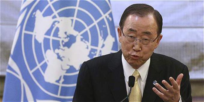 Arriba a Cartagena Secretario General de ONU para acuerdos de paz
