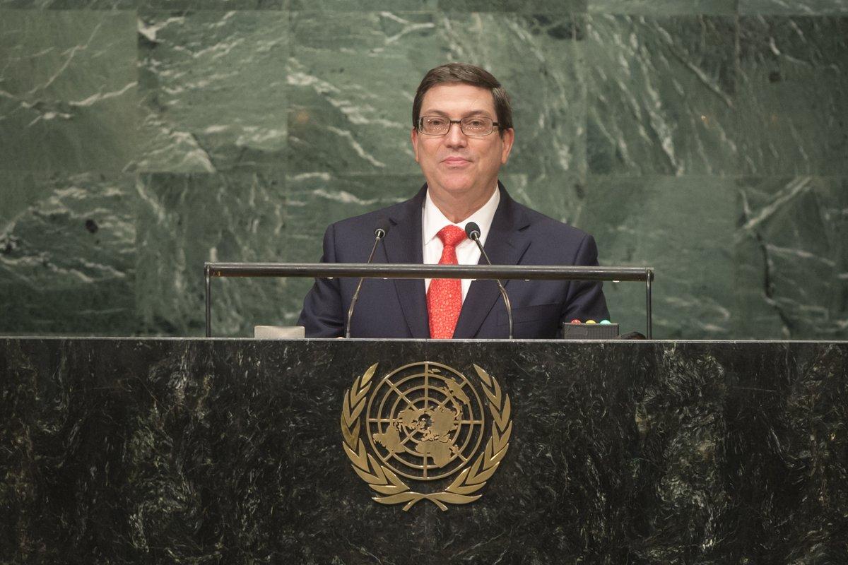 Cuba denuncia en ONU vigencia del bloqueo estadounidense (+ discurso)