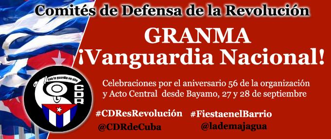 Cobertura de las actividades por el Aniversario 56 de los CDR en Granma (+ fotos y videos)