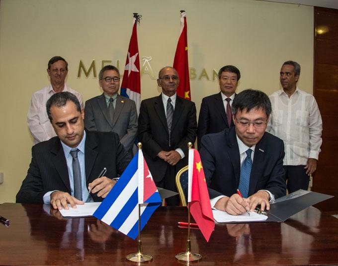 Cuba y China se proponen crear empresa mixta en Zona del Mariel