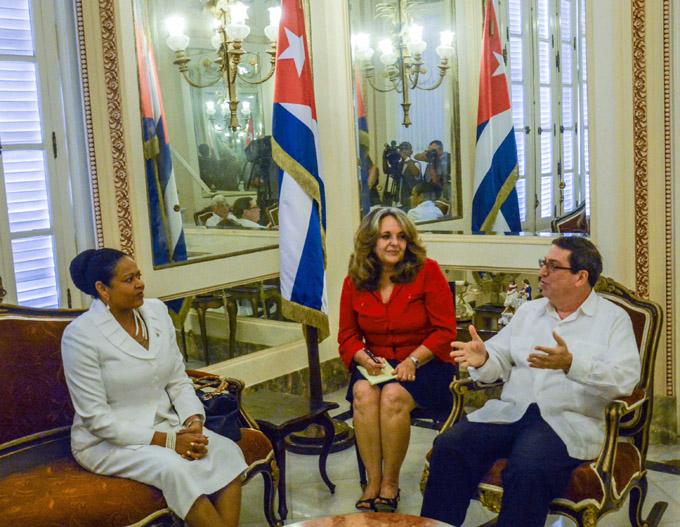 Dialogan Cuba y AEC sobre enfrentamiento regional al cambio climático