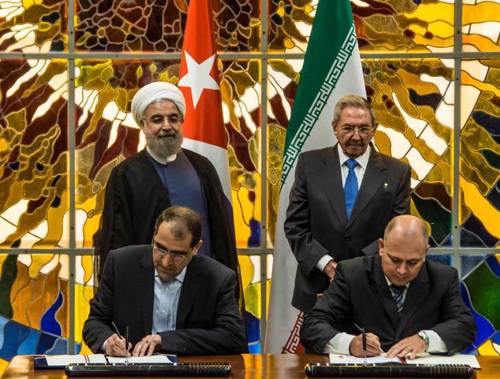 Firman Cuba e Irán memorando de entendimiento en sectores clave