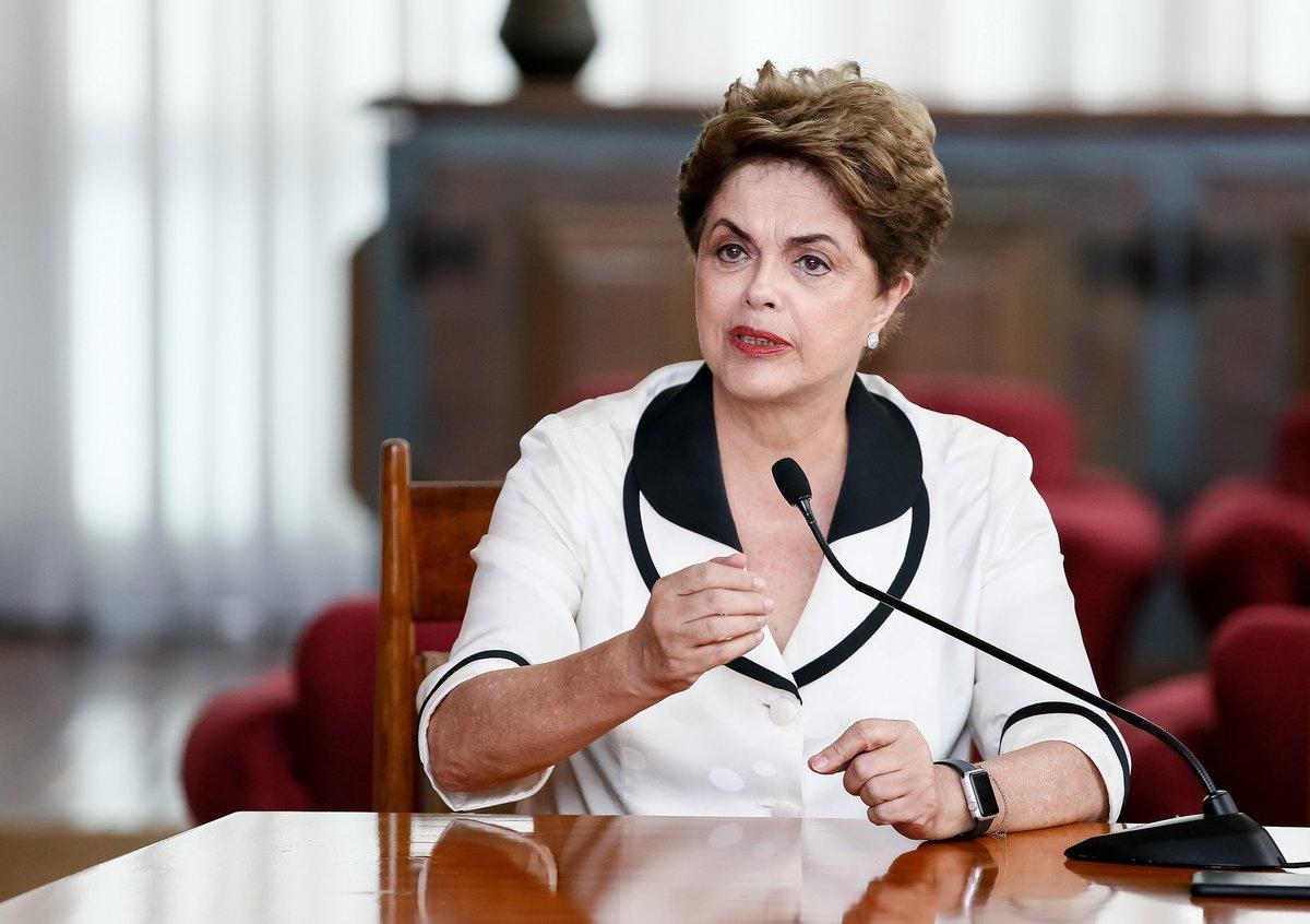 Rousseff denuncia que no se respetó el debido proceso en el impeachment