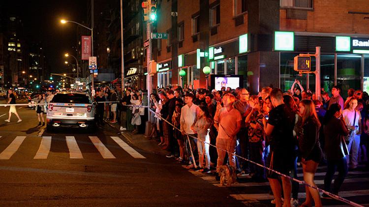 Decenas de heridos tras una fuerte explosión en Manhattan, Nueva York