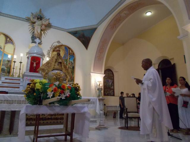 Bayameses celebran el día de la Virgen de la Caridad del Cobre
