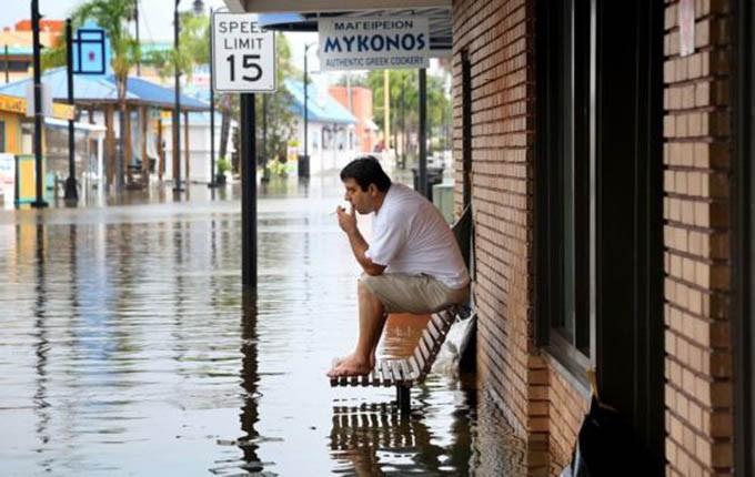Huracán Hermine en Florida