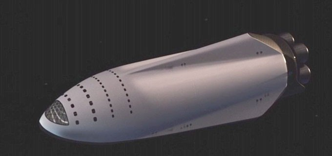 ITS cohete espacial