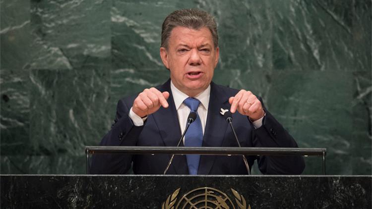 """Santos ante la ONU: """"La guerra en Colombia ha terminado"""""""