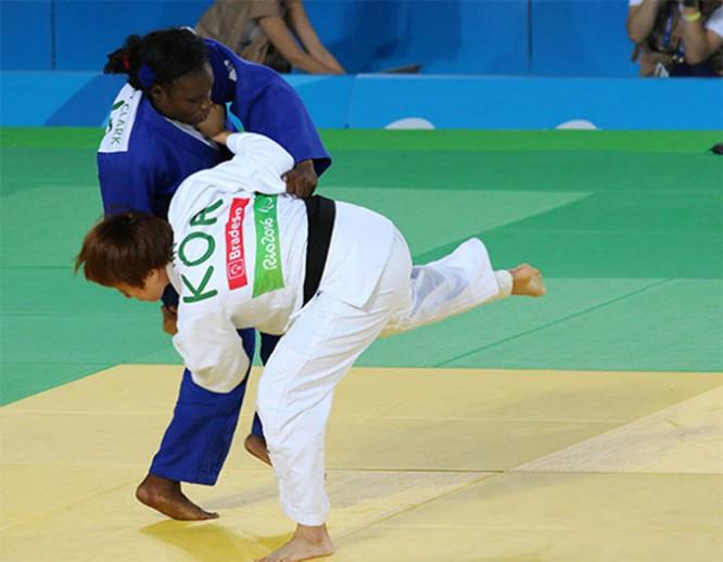 Judo cubano en paralímpicos