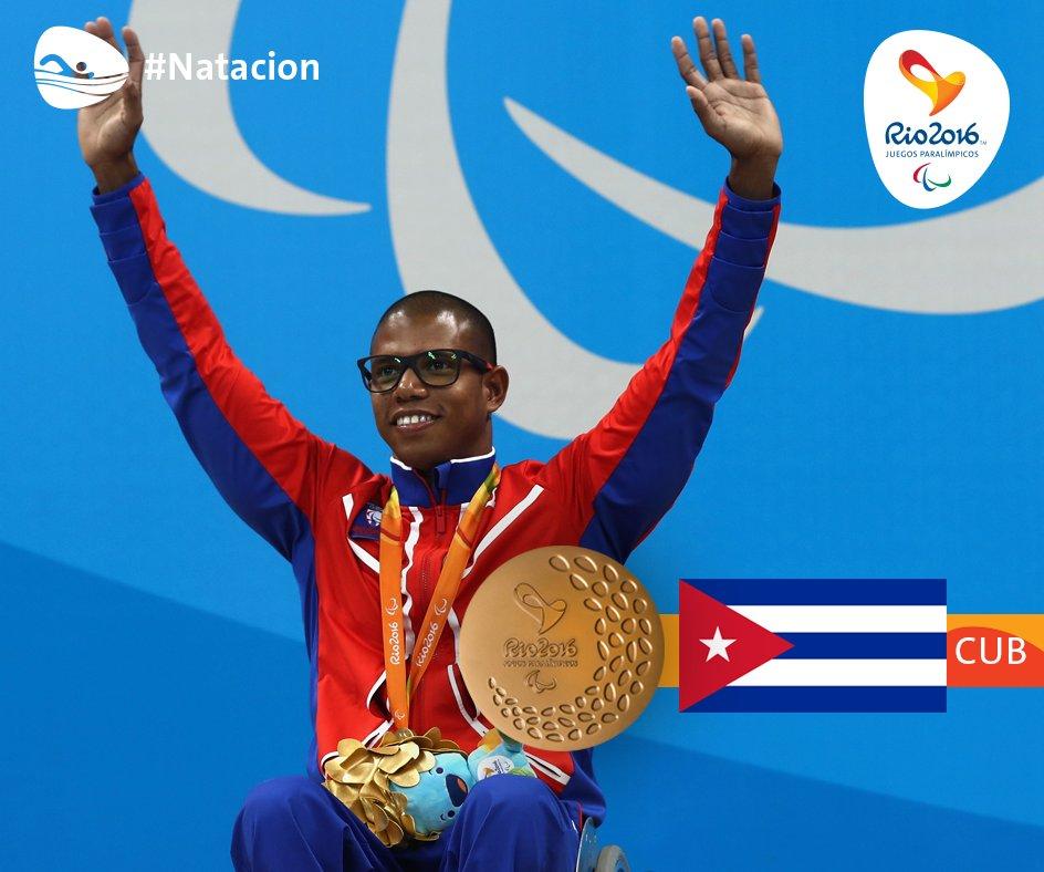 Nadador granmense Lorenzo Pérez gana oro y establece récord Paralímpico en Río de Janeiro 2016 (+ video y fotos)