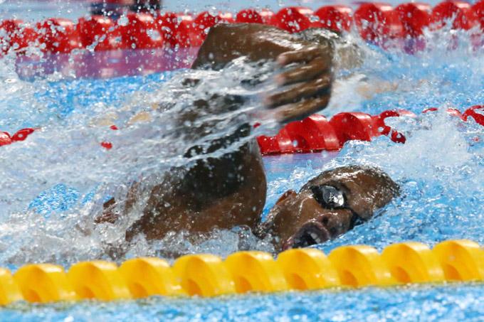 Nadador granmense Lorenzo Pérez en gran día en paraolímpiadas