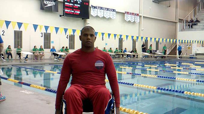 Juegos Paralímpicos: Lorenzo clasifica para la final de los 50 metros libres
