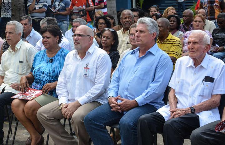 Preside Díaz-Canel inauguración de centro de investigaciones