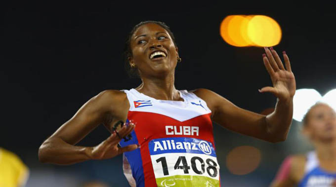 Cubana Durand gana su segundo oro paralímpico en Río 2016