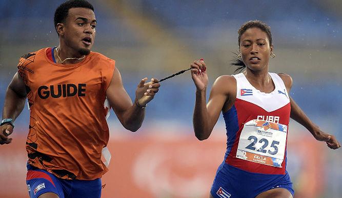 Cubana Durand gana oro paralímpico con récord mundial