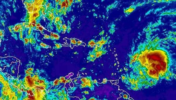 Alerta en el Caribe por paso de onda tropical