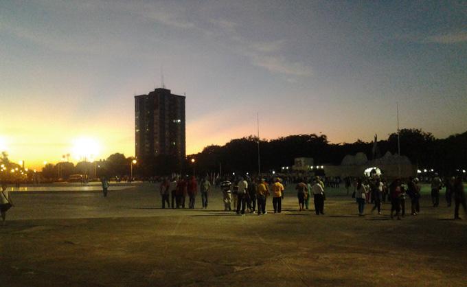 Hoy, en la Plaza de la Patria, otra cita de pueblo y Revolución