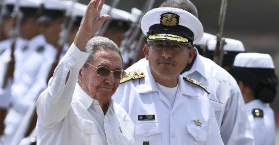 Raúl Castro Ruz, acuerdos de Paz en Colombia