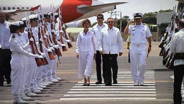 Raúl Castro Ruz, en Colombia