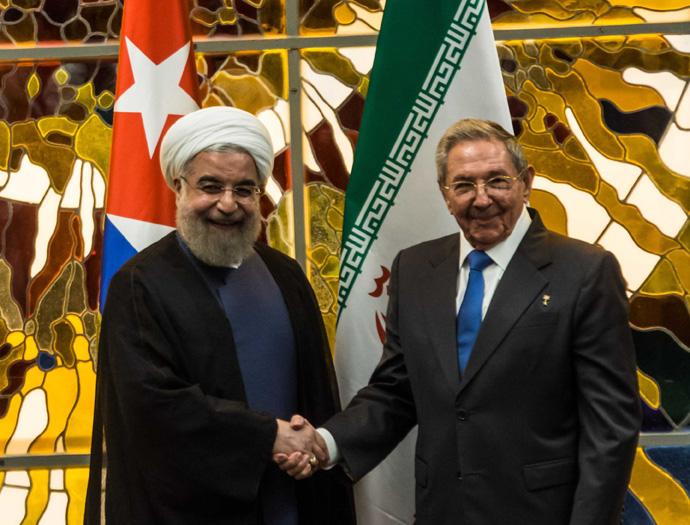 Recibió Raúl al Presidente de la República Islámica de Irán