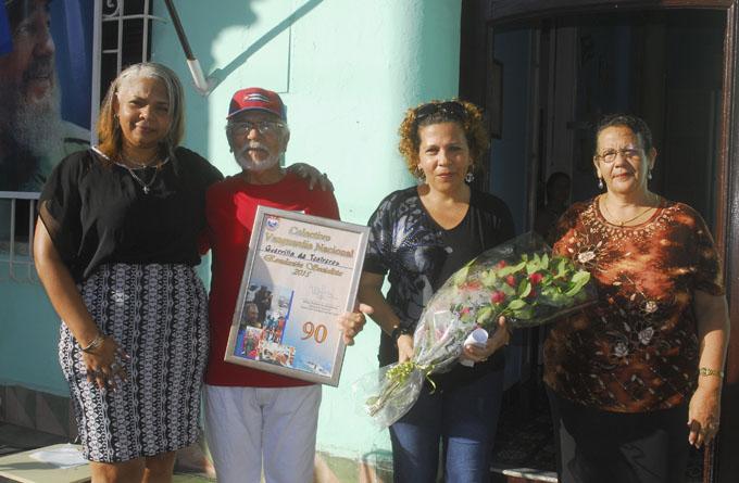 Reconoce Central de Trabajadores de Cuba labor de la Guerrilla de Teatreros