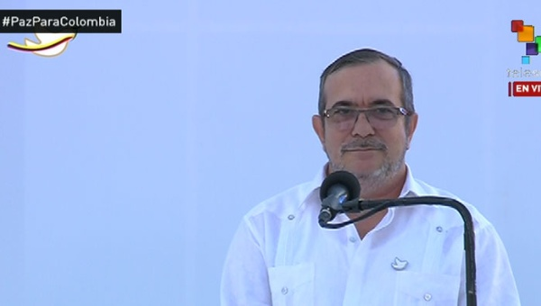 Timochenko: Nadie debe dudar del compromiso de paz de las FARC