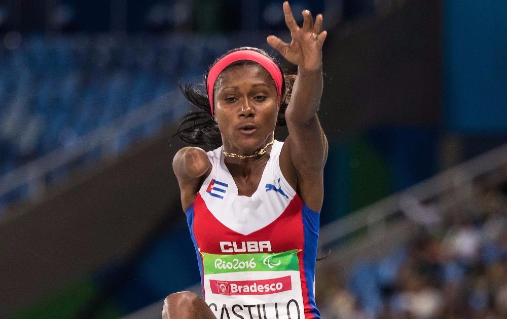 Salto de plata para Yunidis Castillo en Juegos Paralímpicos