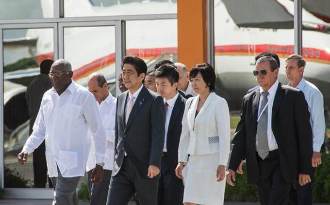 Concluye positiva visita a Cuba de Primer Ministro japonés