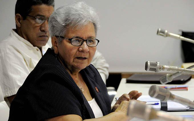Expone Contralora avances y retos de Cuba hacia 2030