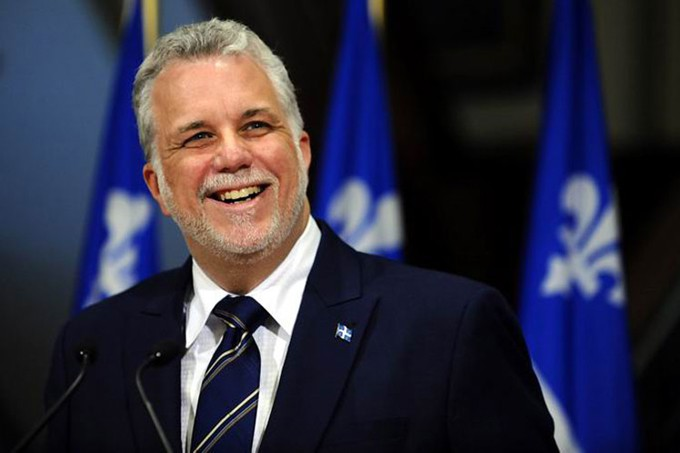primer ministro de Quebec, Canadá, Philippe Couillard