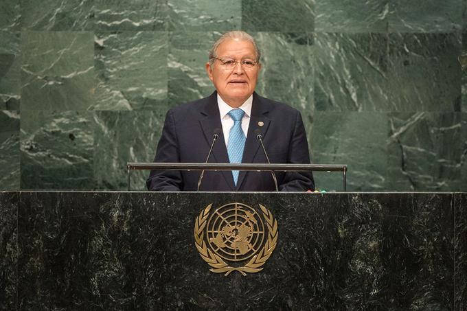El Salvador reitera compromiso con la paz y desarrollo de los pueblos