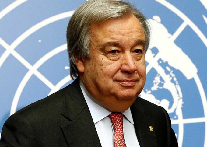 Portugués Guterres nombrado Secretario General ONU de 2017 a 2021