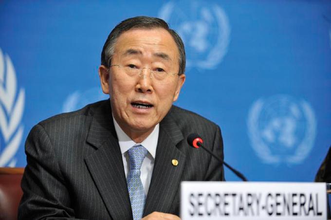 Ban Ki-moon envía representante a Cuba para tema de paz en Colombia