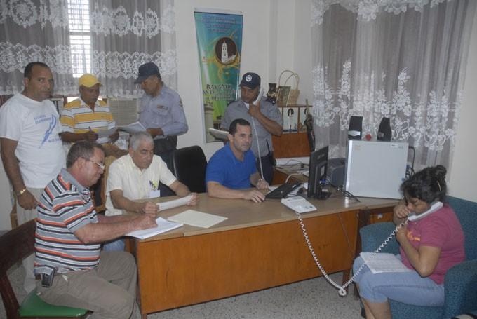 Comisión de evacuiación Bayamo