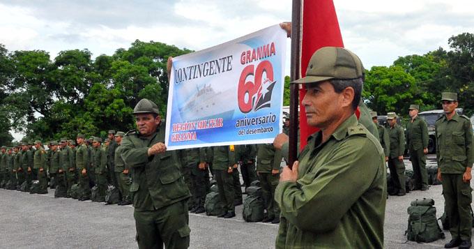Soldados granmenses contribuirán con recuperación de Baracoa